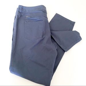 Columbia blue tapered leg pants
